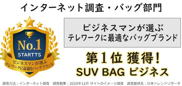 ビジネスマンが選ぶテレワークに最適なバッグブランド第1位
